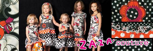 ザザクチュールの子供服のイメージ