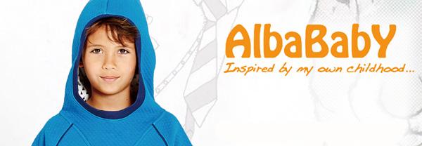 アルバベイビーの子供服のイメージ