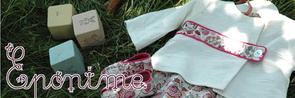 Eponime(エポニーム)のベビー服のイメージ