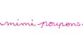 mimi poupons(ミミプポン)のロゴ